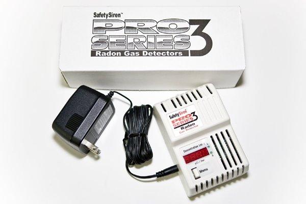 Détecteur de gaz radon, Pro Series 3