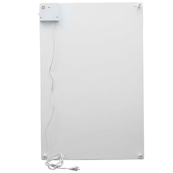 Amaze Heater 600-Watt Ceramic Electric Panel Room Heater With Thermostat