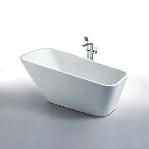 Baignoire Athenes de Jade Bath, blanc, 67