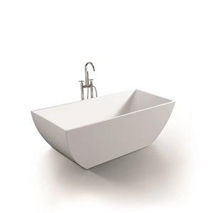 Baignoire New Dawn de Jade Bath, blanc, 67