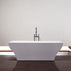 Baignoire Da Vinci de Jade Bath, blanc, 70