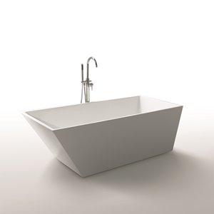 Baignoire Morning Star de Jade Bath, blanc, 67
