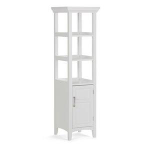 Avington Bath Storage Tower - White