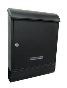 Boîte aux lettres murale, noir