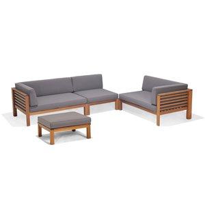 Scancom Docklands Deep Seating Set - 4-Pieces
