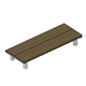 Invisia Bath Bench - 30
