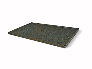 Unik Stone Shower Base - Limestone - 32