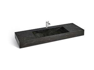Unik Stone Simple Sink - Limestone - 60