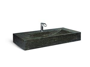 Lavabo en pierre calcaire Unik Stone, 39