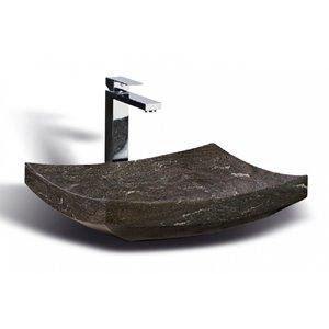 Vasque en pierre calcaire Unik Stone, 20