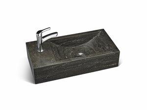 Lave-main en pierre calcaire Unik Stone, 18