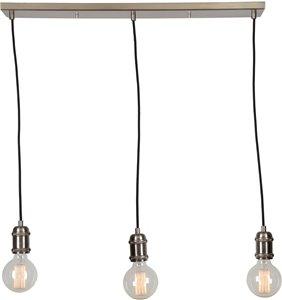 Epworth 3-Light Pendant - Brushed Nickel - 28