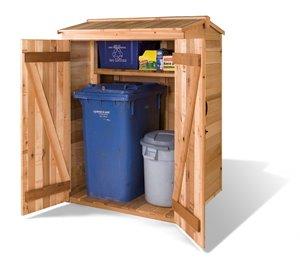 Greenpod Storage Shed  - 4' x 4 ' - Cedar