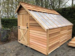 Sunhouse Storage Shed - 8' x 12' - Cedar