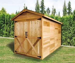 Rancher Storage Shed - 6' x 12' - Cedar