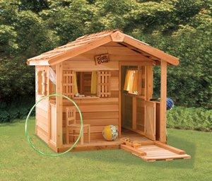 PlayHouse Storage Shed - 6' x 6' - Cedar