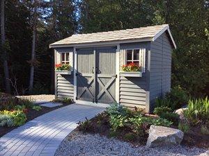 LongHouse Storage Shed - 12' x 6' - Cedar