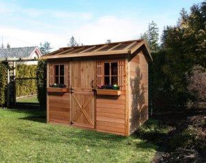 HobbyHouse Storage Shed - 9' x 6' - Cedar