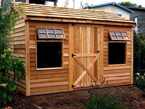 Haida Storage Shed - 12' x 8' - Cedar