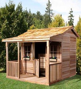 BunkHouse Storage Shed - 9' x 10' - Cedar