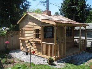BunkHouse Storage Shed - 12' x 14' - Cedar