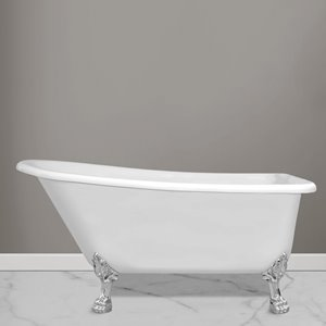 Jade Bath London Clawfoot Freestanding Tub - 59