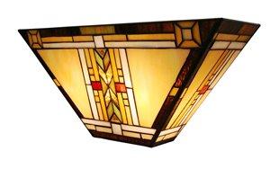 Applique murale à 2 ampoules style Tiffany, 5