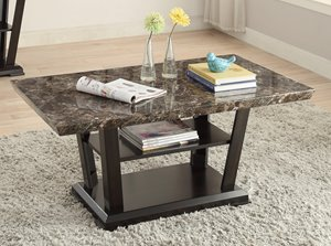 Charlotte Coffee Table - Brown