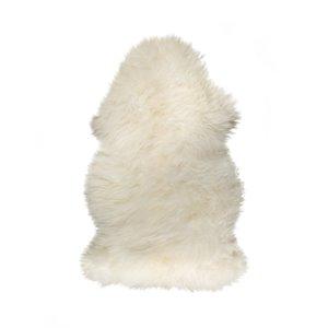 Tapis en peau de mouton ,2'x 3', naturel