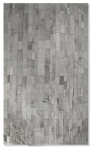 Madrid Cowhide Stitched Rug - 5'x8' - Gray
