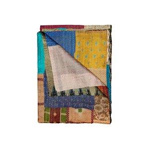 Kantha Silk Throw - 50