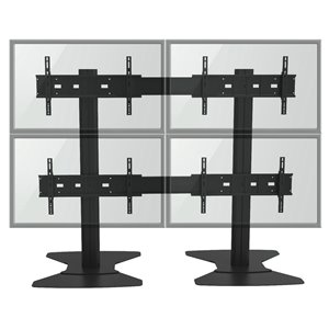 TygerClaw Wall Stand - 4 Flat Panel TVs - 30
