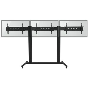 TygerClaw Wall Stand - 3 Flat Panel TVs - 30