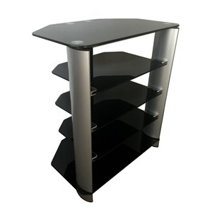 TygerClaw TV Stand - AV components - Black