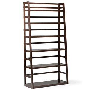 Acadian Wide Shelf Bookcase - Pine - 72
