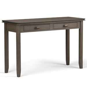 Table console pour salon Artisan, 29,5