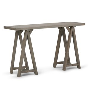 Table console pour salon Sawhorse, 9,5