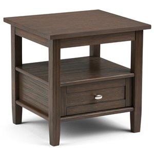 Warm Shaker End Table - 20.1