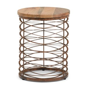 Table d'appoint Miley, rond, 17