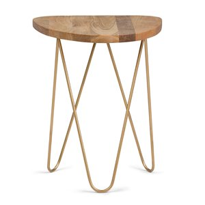 Table d'appoint Patrice, rond, 18