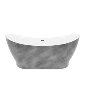 Tundra Freestanding Bathtub - 66