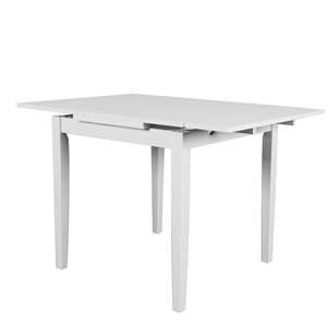 Table extensible Dillon avec 2 rallonges de 8