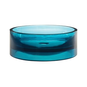 Lana Above-Counter Resin Sink - Round - Lagoon