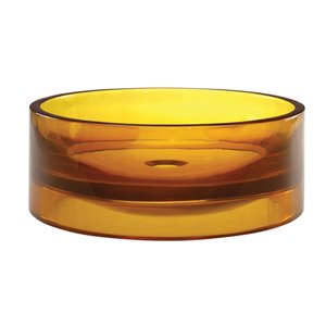 Lana Above-Counter Resin Sink - Round - Honeycomb