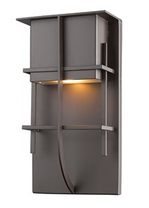 Stillwater 1-Light Outdoor Wall Sconce - Deep Bronze