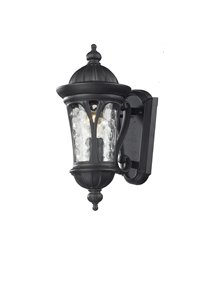 Doma 1-Light Outdoor Wall Sconce - Black