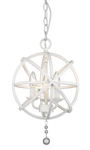 Tull 3-Light Chandelier - 12