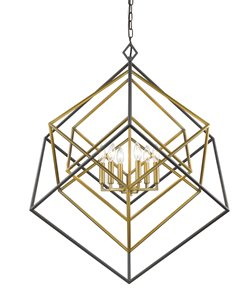 Euclid 6-Light Chandelier - 35.5
