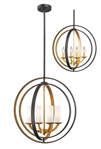 Ashling 4-Light Pendant - 19.88