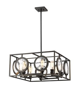 Port 8-Light Pendant - 25.75